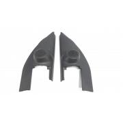 Par moldura acabamento interno retrovisor Livina 2008-2014 original
