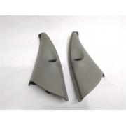 Par moldura acabamento interno retrovisor manual Clio 2000-2008