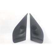 Par moldura acabamento interno retrovisor Palio 4p / Siena Elétrico Original