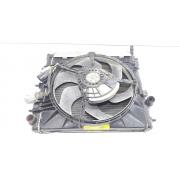 Ventoinha radiador eletroventilador motor Citroen C3 1.4 8v original