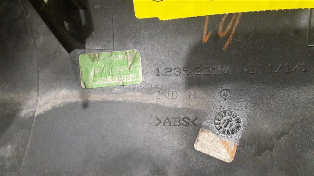 Acabamento capa retrovisor externo Megane 1998 1999 2000 2001 2002 2003 2004 2005 2006 2007 2008 2009 2010 2011 2012 direito original