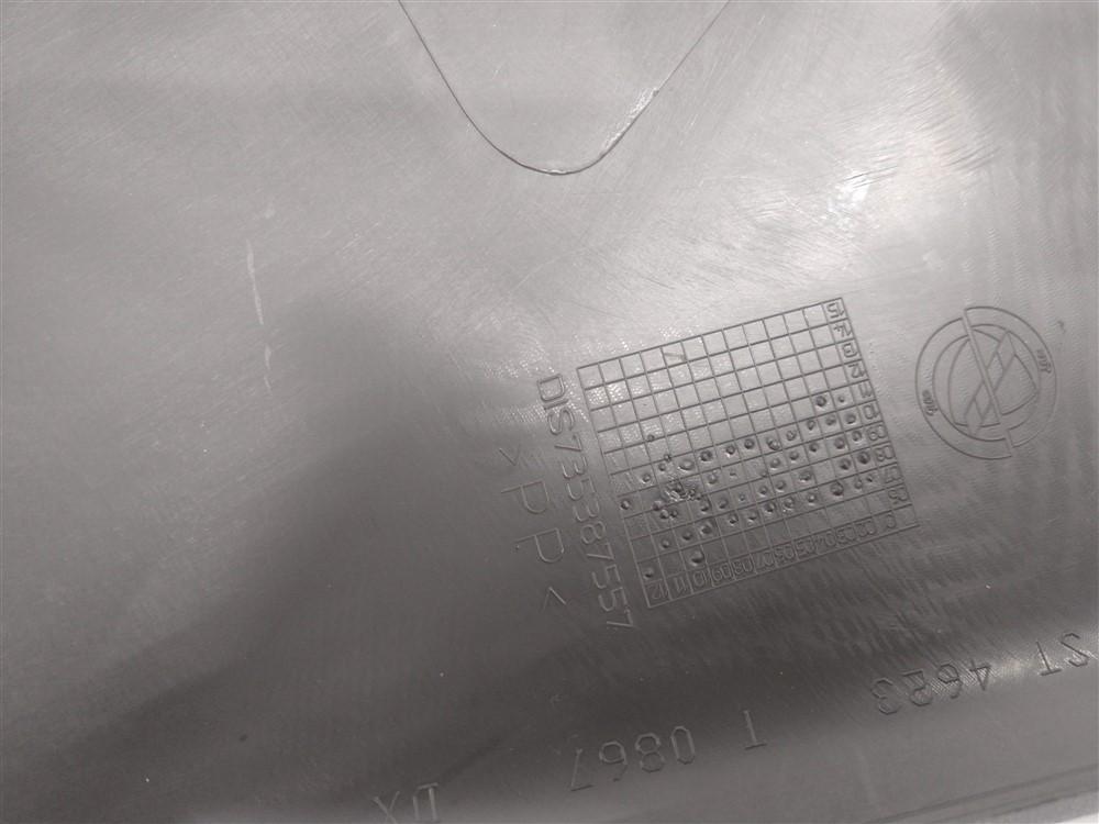 Acabamento interno lateral banco Linea 2008-2012 traseiro direito