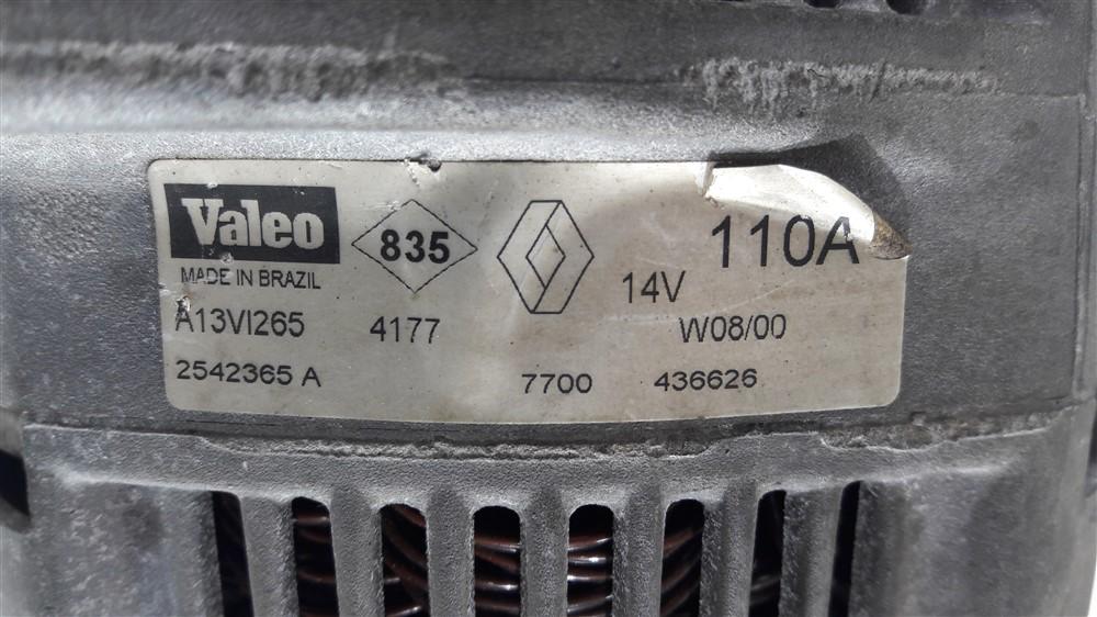 Alternador 110a 2.0 8v Original RENAULT SCENIC 96 97 98 99 2000 2001