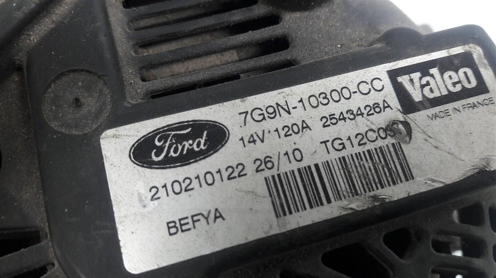 Alternador Ford Focus 1.6 16v 120a original