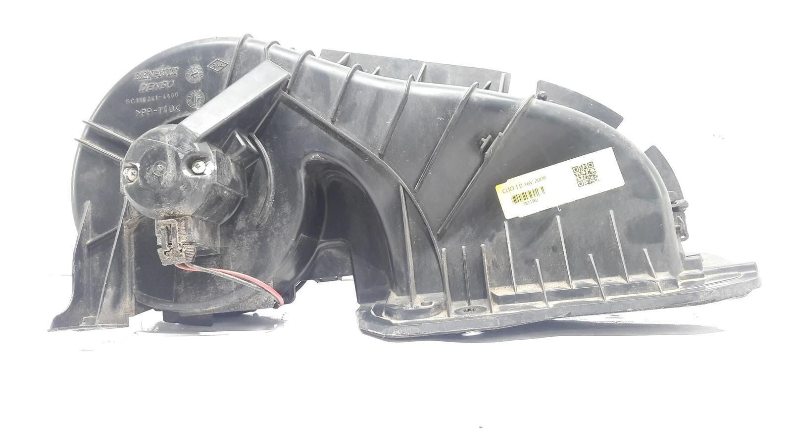 Caixa ar forçado ventilação interna Clio 2001-2012