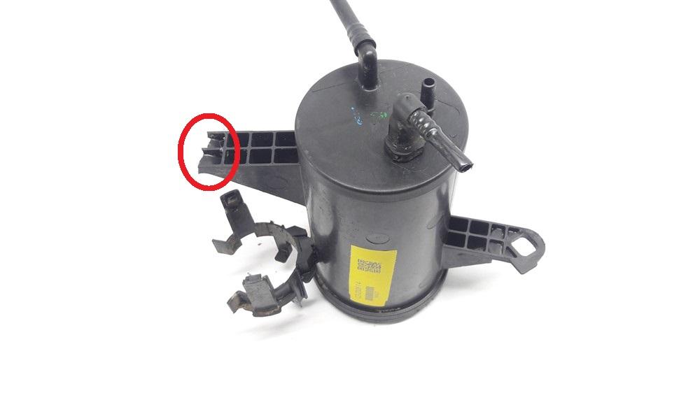 Canister filtro carvão gasolina Citroen C3 1.4 8v original
