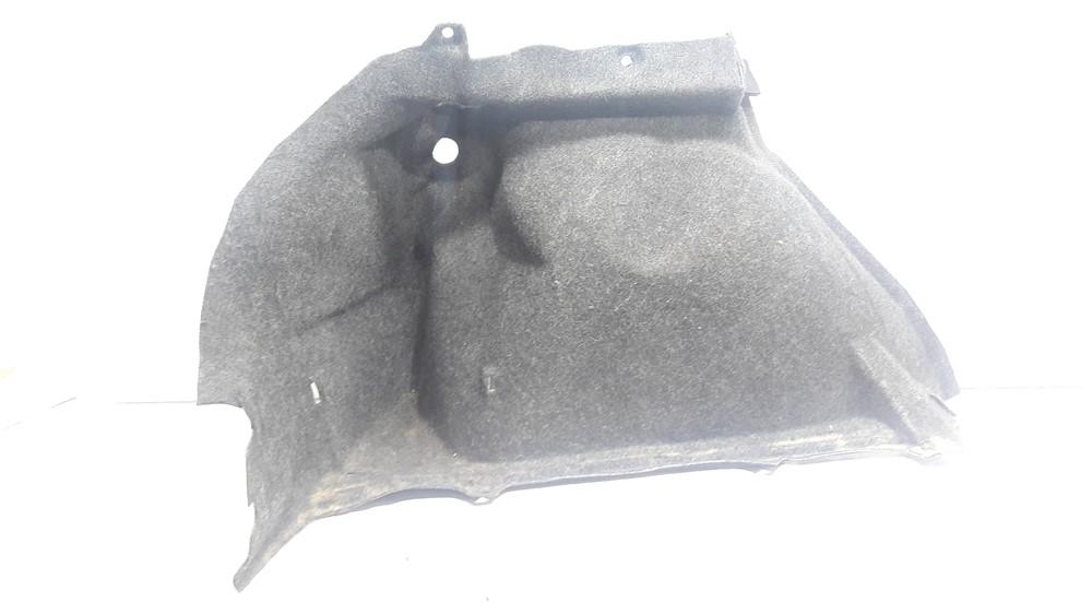 Carpete forro moldado lateral porta malas Peugeot 307 esquerdo original