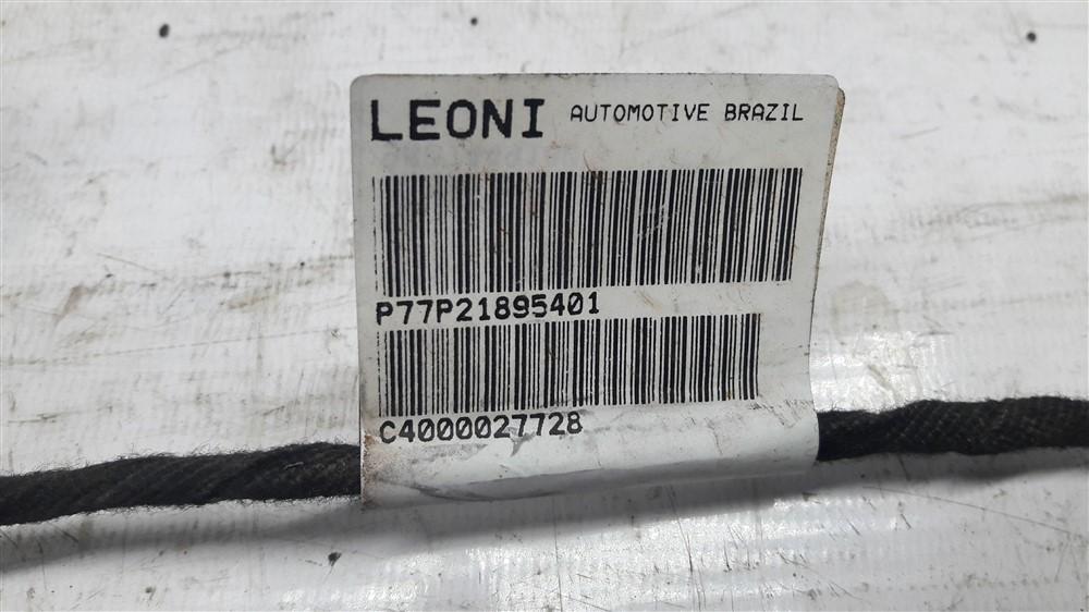 Chicote fiação elétrica porta Peugeot 208 traseiro esquerdo original