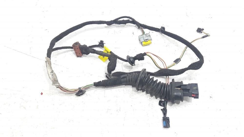 Chicote fiação elétrica porta Peugeot 307 traseira esquerda original