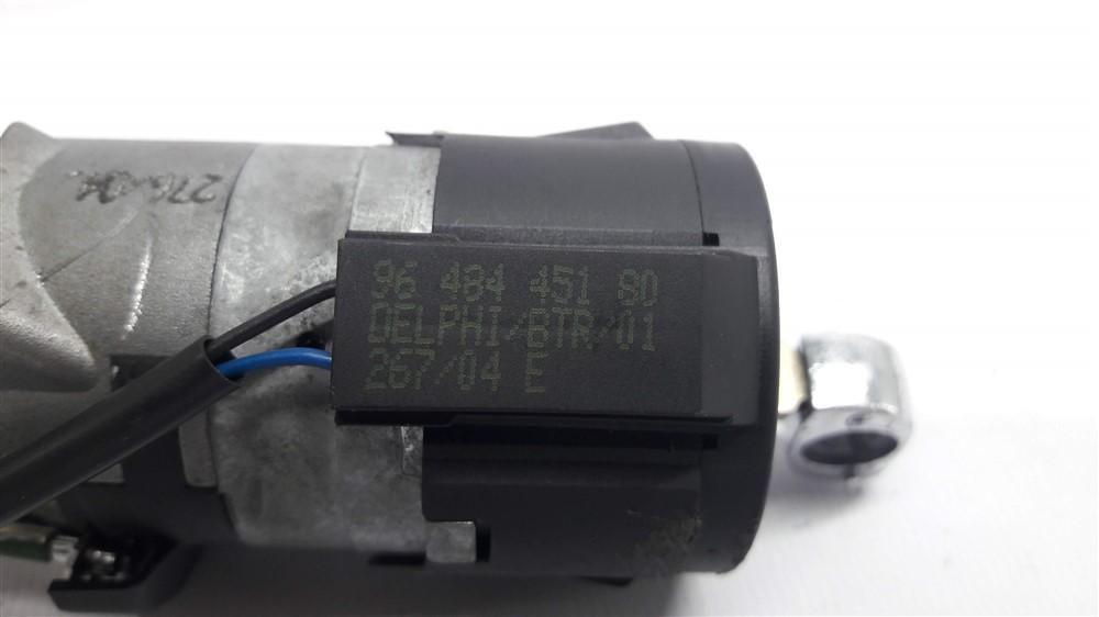 Cilindro comutador ignição com chave Peugeot 307 original