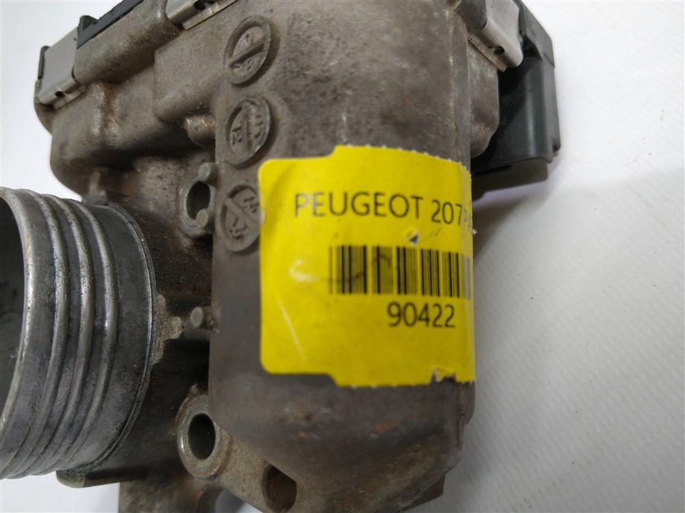 Corpo borboleta tbi Peugeot 206 207 Citroen C3 1.4 8v
