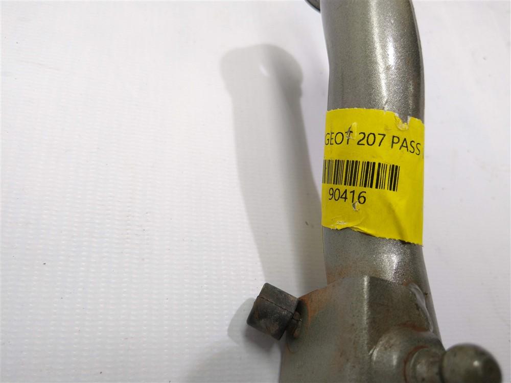 Dobradiça braço suporte tampa traseira mala esquerdo Peugeot 207 Passion