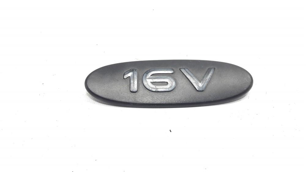 Emblema lateral porta 16v Megane Clio Kangoo direito original