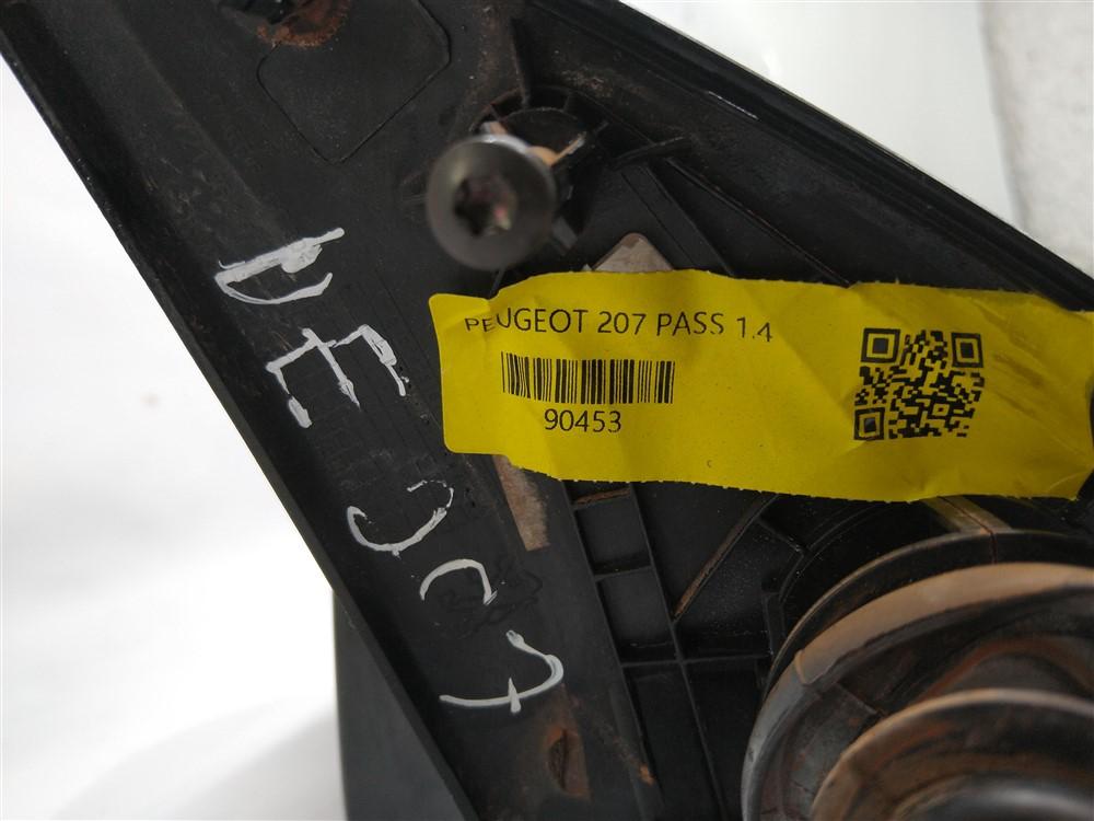 Espelho retrovisor manual externo esquerdo Peugeot 206 207