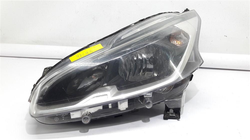 Farol Peugeot 208 2012 2013 2014 2015 2016 2017 GRIFFE LED máscara negra original
