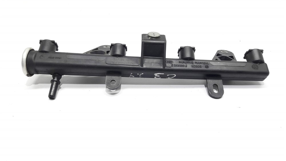 Flauta bico injetor Peugeot 206 207 Citroen C3 1.4 8v original