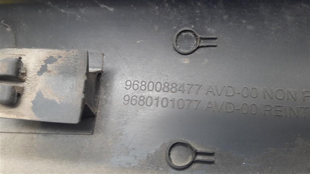 Friso borrachão lateral porta Citroen C3 2003 2004 2005 2006 2007 2008 2009 2010 2011 2012 dianteiro direito original