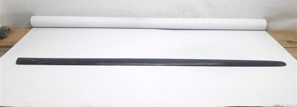 Friso borrachão lateral porta Peugeot 206 dianteiro direito 2 portas original