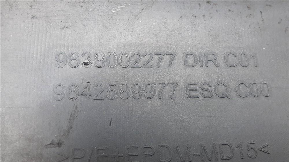Friso borrachão lateral porta Xsara Picasso 2001-2008 dianteiro direito original