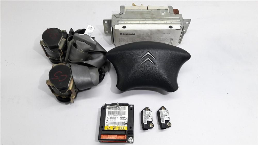 Kit airbag Citroen C5 2002 2003 2004 2005 2006 2007 2008 2009 2010 original