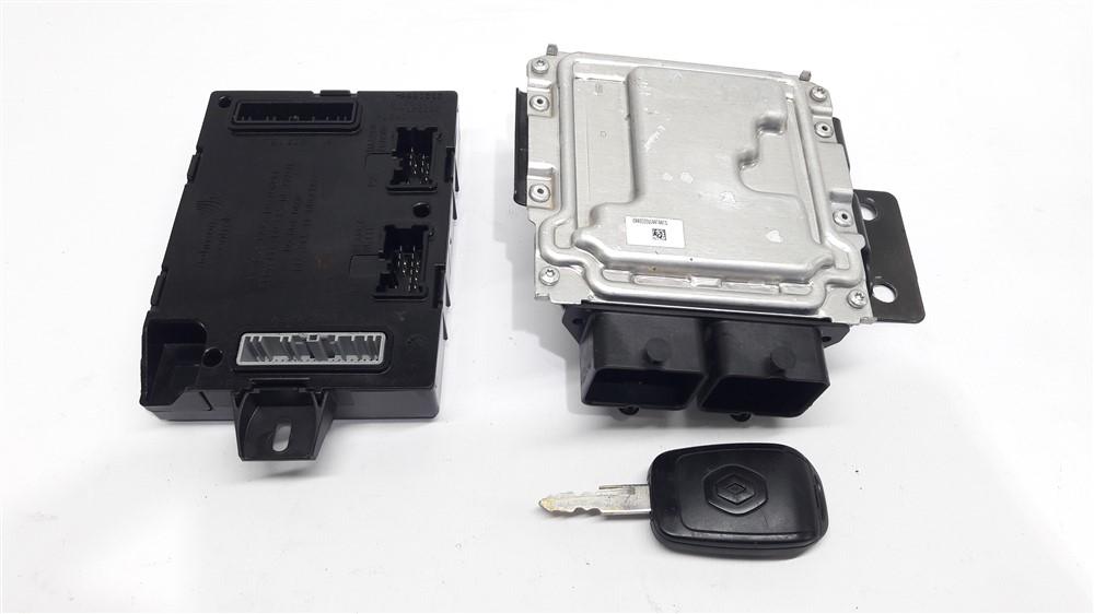 Kit code injeção módulo chave ignição Renault Kwid 1.0 12v 3 cilindros original