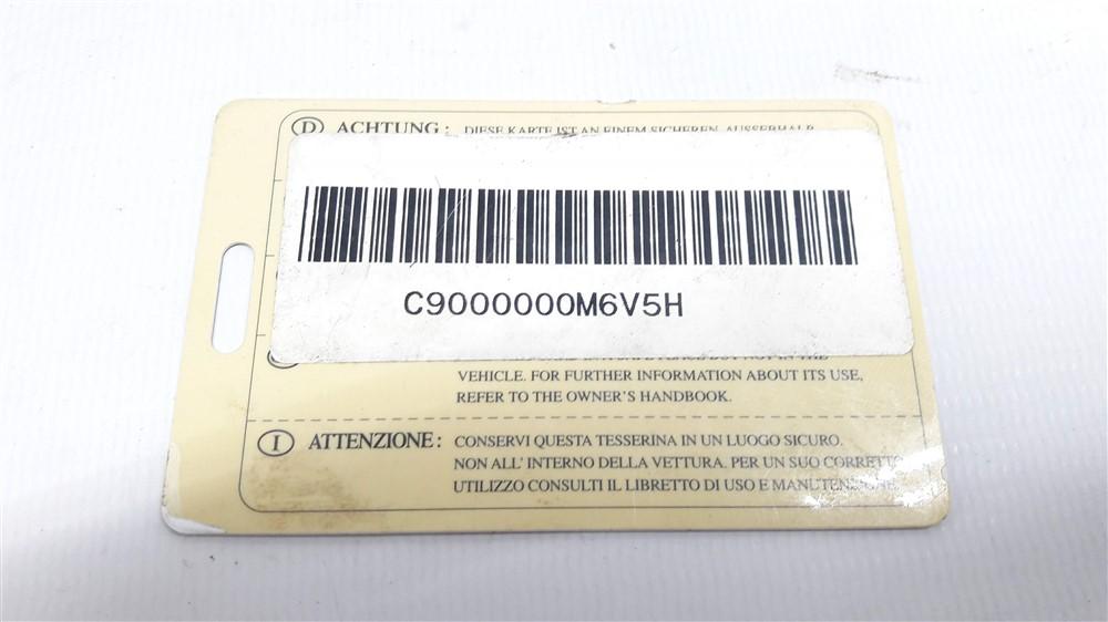Kit code injeção módulo chave ignição Xsara Picasso 2.0 16v gasolina original