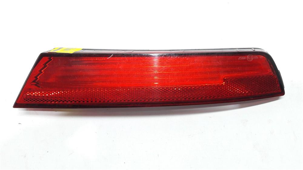 Lanterna refletor parachoque traseiro Fox 2010 2011 2012 2013 2014 esquerdo original