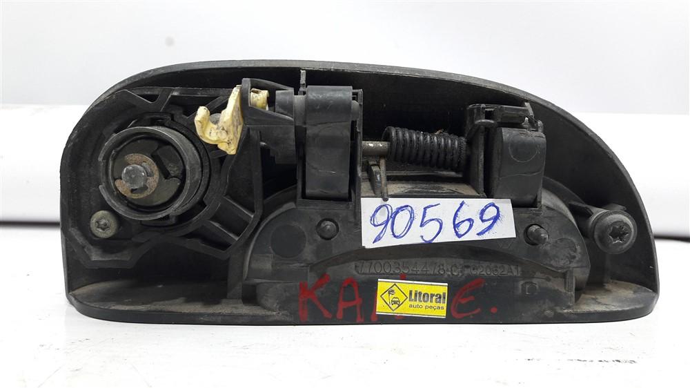 Maçaneta puxador externo porta Kangoo dianteira esquerda original