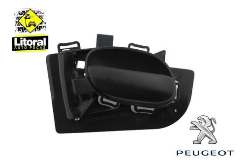 Maçaneta Puxador Interno Porta Peugeot 206 207 Esquerda Original