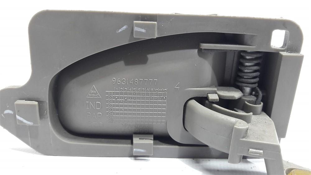 Maçaneta puxador interno porta Xsara Picasso 2001-2008 esquerdo original