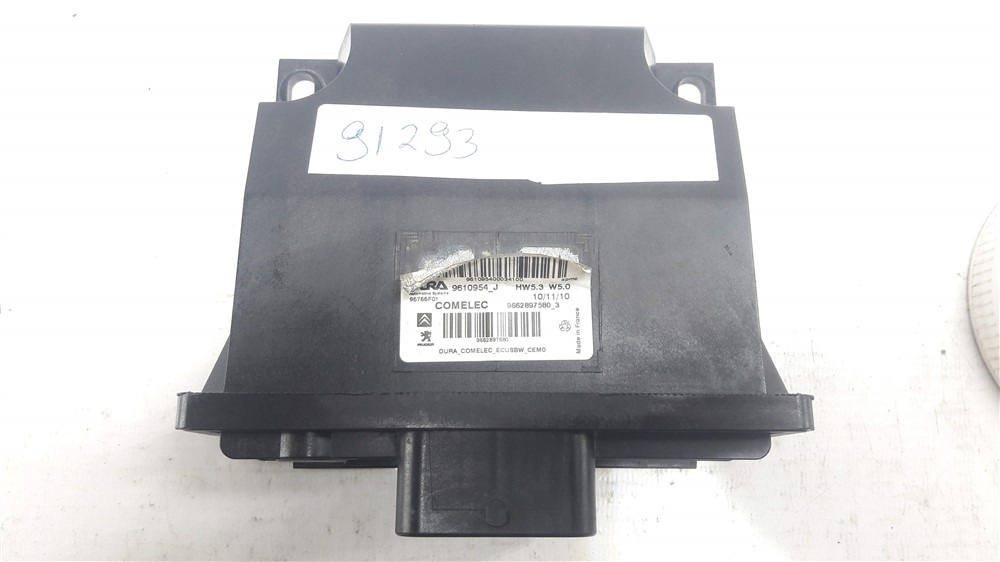 Módulo comelec cambio automático Citroen C4 Picasso original