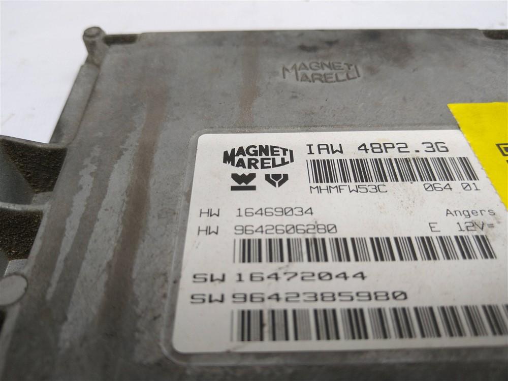 Módulo injeção Xsara Picasso Citroen C5 Peugeot 307 2.0 16v