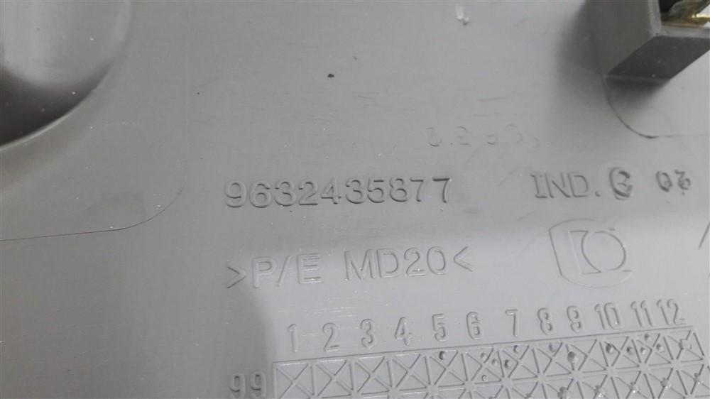 Moldura acabamento coluna Interna Traseira Xsara Picasso 2001-2008 direita original