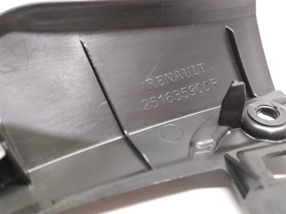 Moldura acabamento comando controle ar condicionado Renault Kwid original