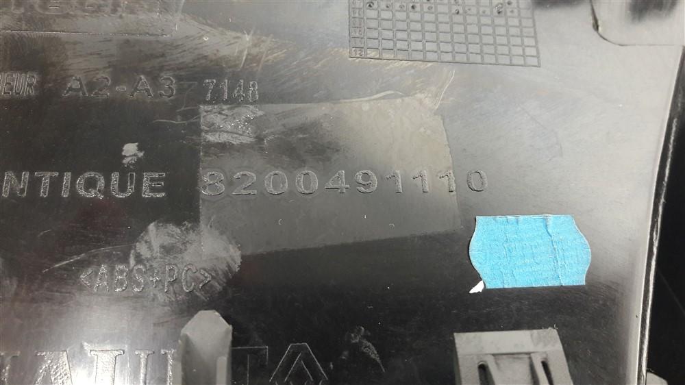 Moldura acabamento computador bordo painel Megane 2006 2007 2008 2009 2010 2011 2012 original