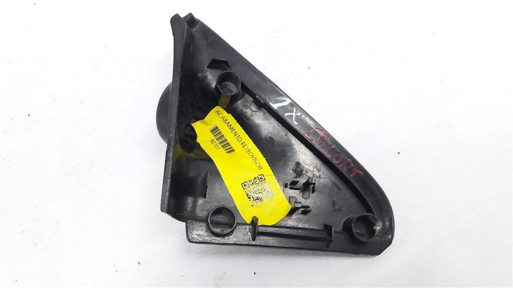Moldura acabamento interno retrovisor Escort Zetec 1993-2003 direito original
