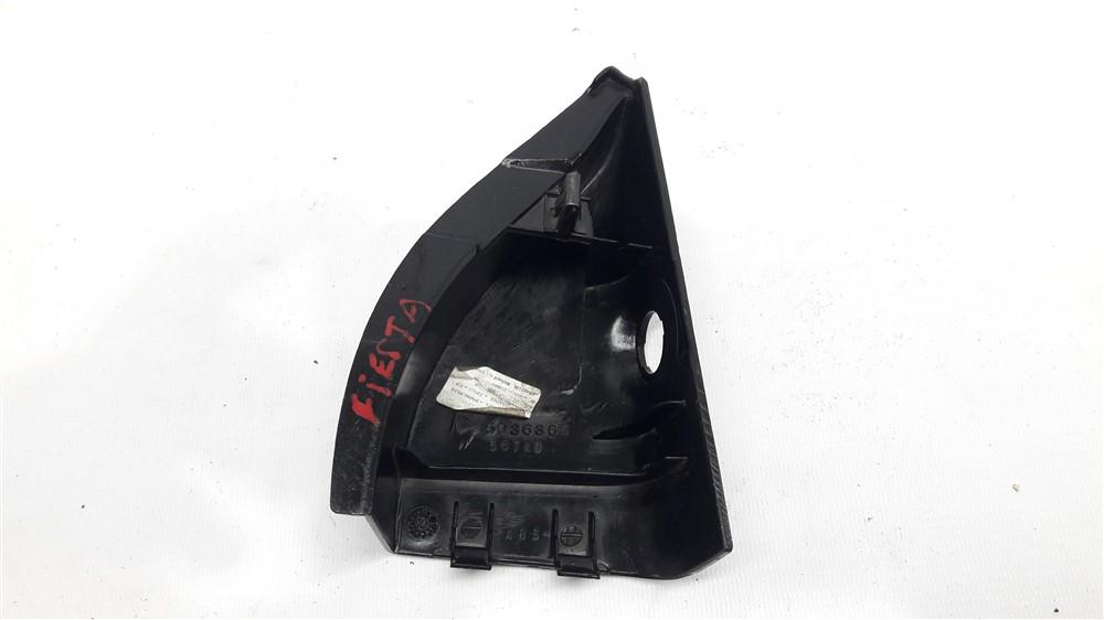 Moldura acabamento interno retrovisor Fiesta 2003-2014 esquerdo manual original