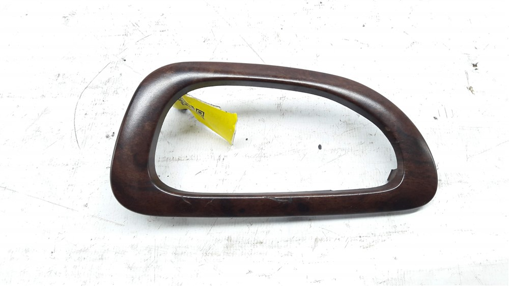 Moldura acabamento maçaneta puxador interno Peugeot 307 madeirado dianteiro esquerdo original