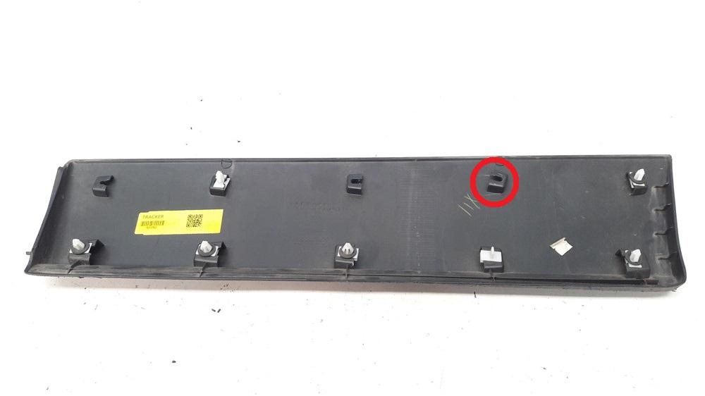 Moldura acabamento porta Tracker 2014 2015 2016 2017 traseiro direito original