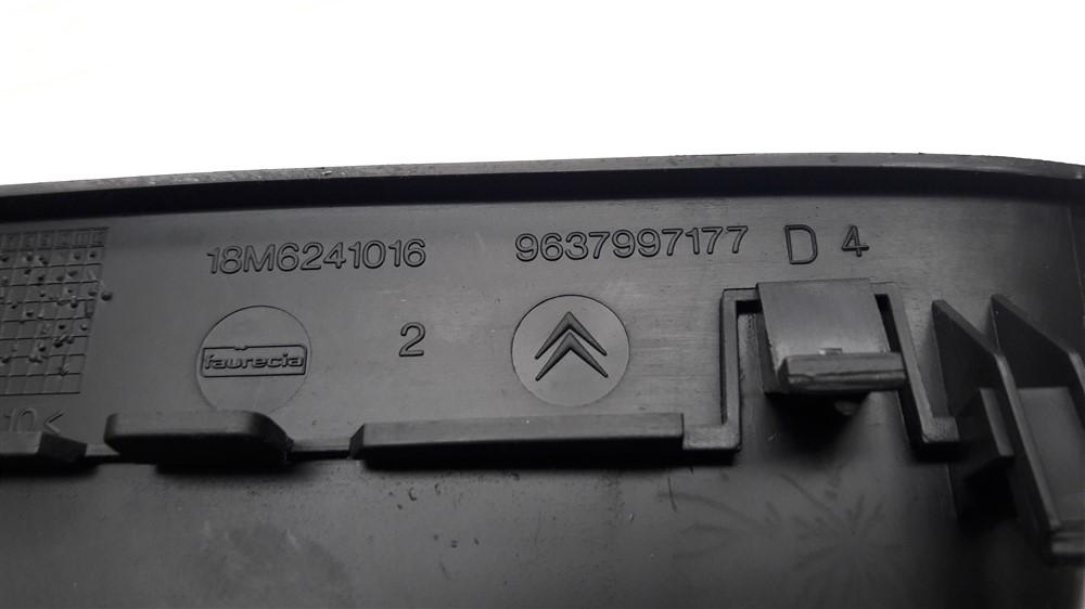 Moldura acabamento relógio digital painel Citroen C3 2003 2004 2005 2006 2007 2008 2009 2010 2011 2012 original