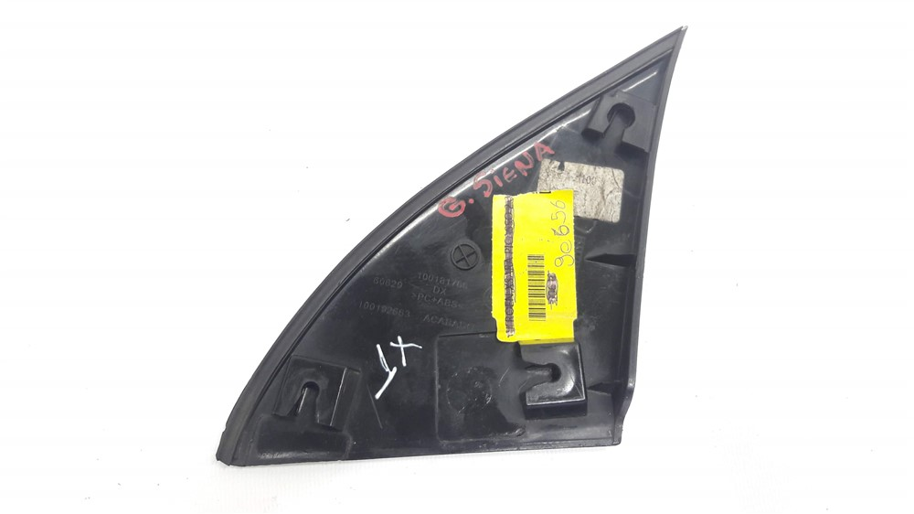 Moldura acabamento retrovisor Grand Siena Novo Palio direito original