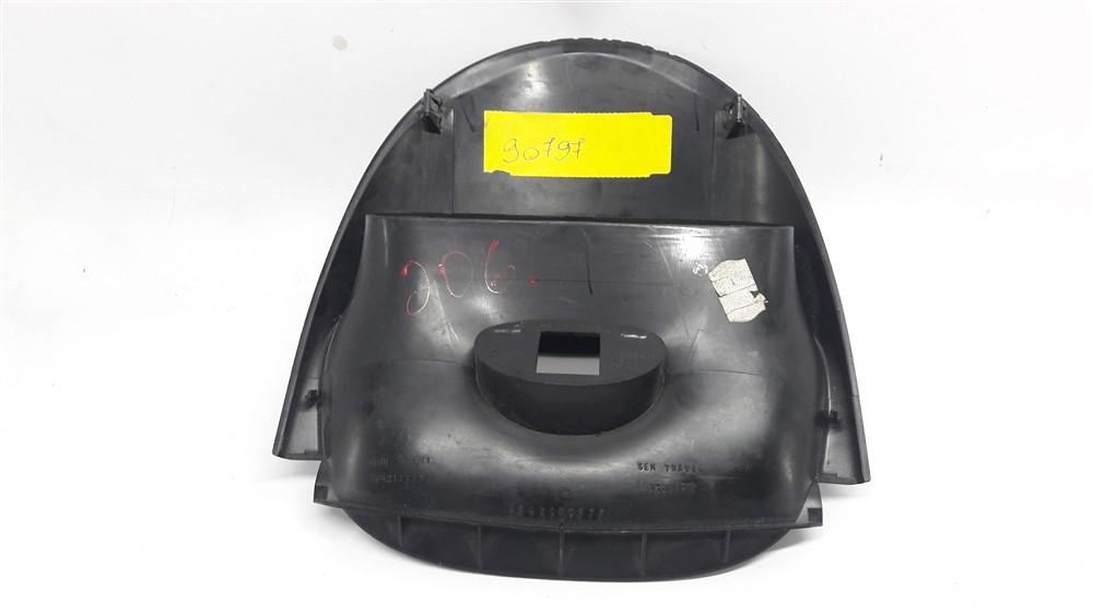 Moldura acabamento Relogio Diplay central painel  Botão Alerta Peugeot 206 original