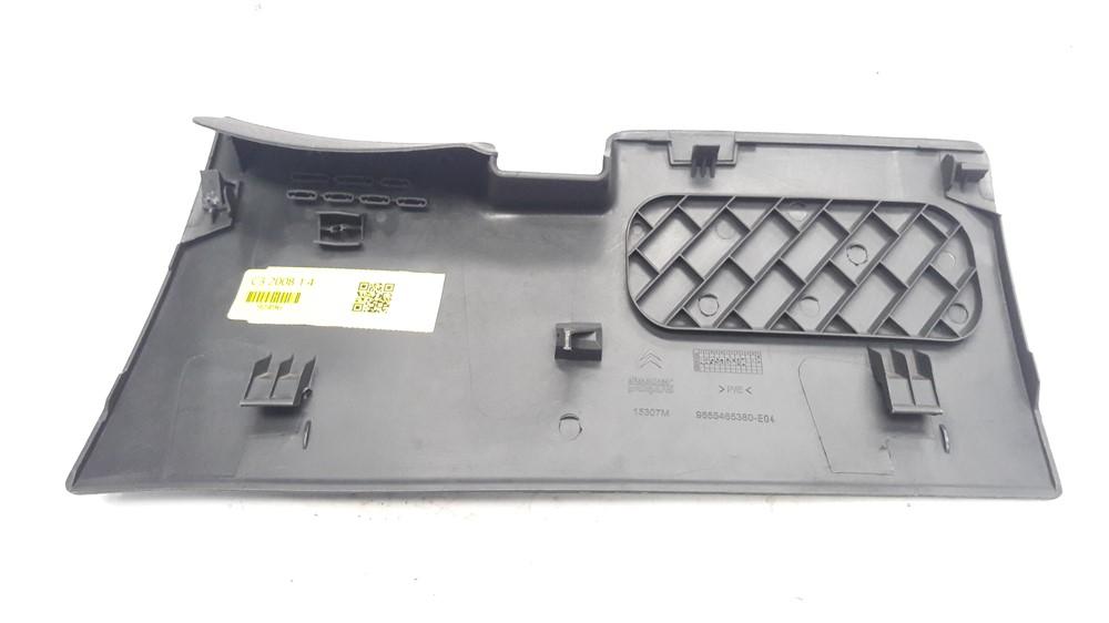 Moldura acabamento tampa caixa fusíveis painel Citroen C3 2003 2004 2005 2006 2007 2008 2009 2010 2011 2012 original
