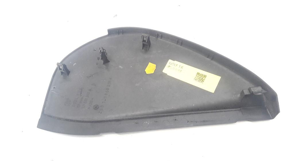 Moldura acabamento tampa lateral painel Golf 1999 2000 2001 2002 2003 2004 2005 2006 direito original