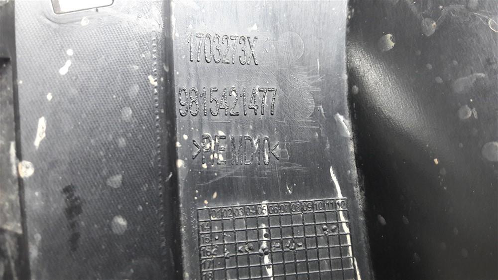 Moldura grade farol milha Peugeot 208 esquerdo original