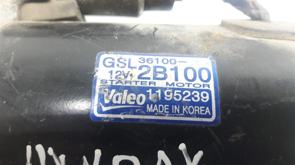 Motor arranque partida Kia Soul Cerato Hyundai I30 1.6 16v original