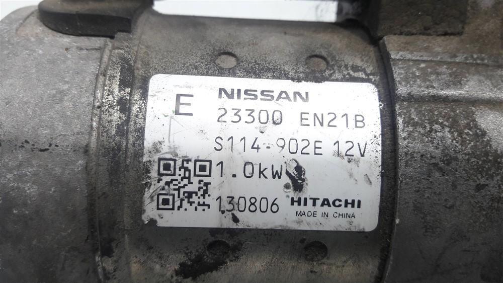 Motor arranque partida Nissan Livina Tiida Sentra 1.8 original