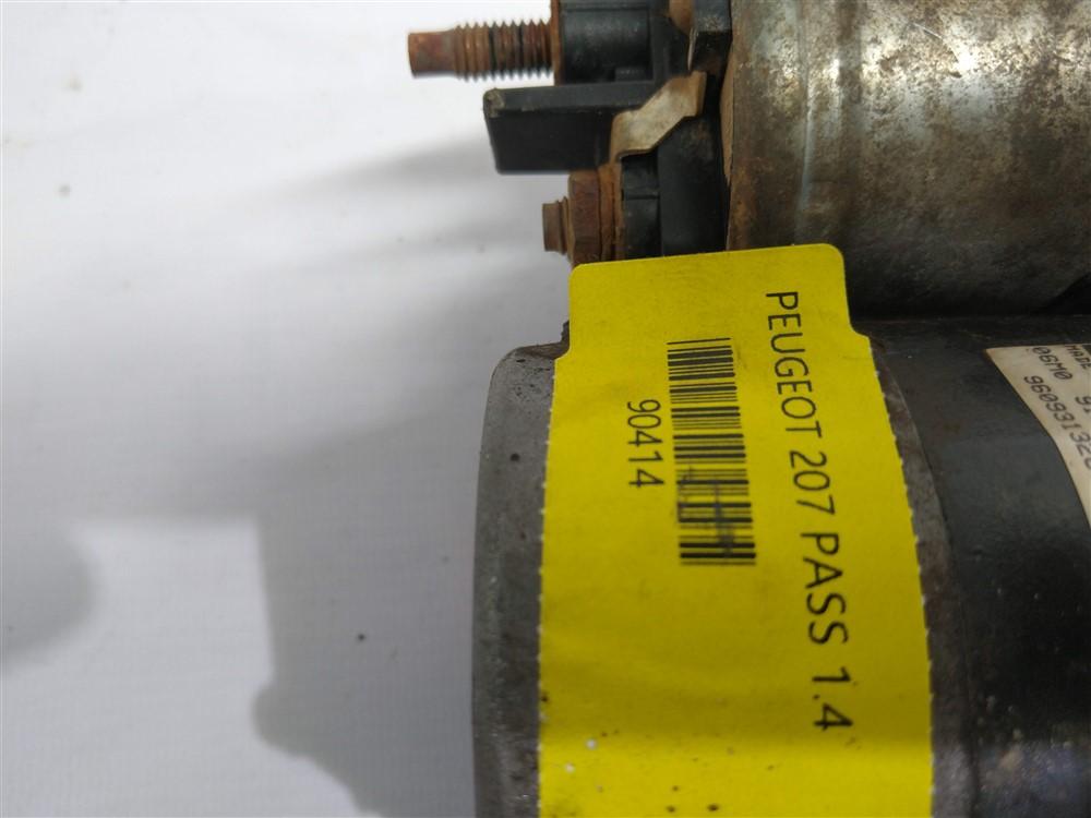 Motor arranque partida Peugeot 206 207 Citroen C3 1.4 8v