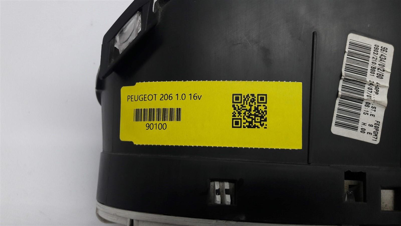 PAINEL DE INSTRUMENTOS VELOCIMETRO PEUGEOT 206 2 plug ORIGINAL