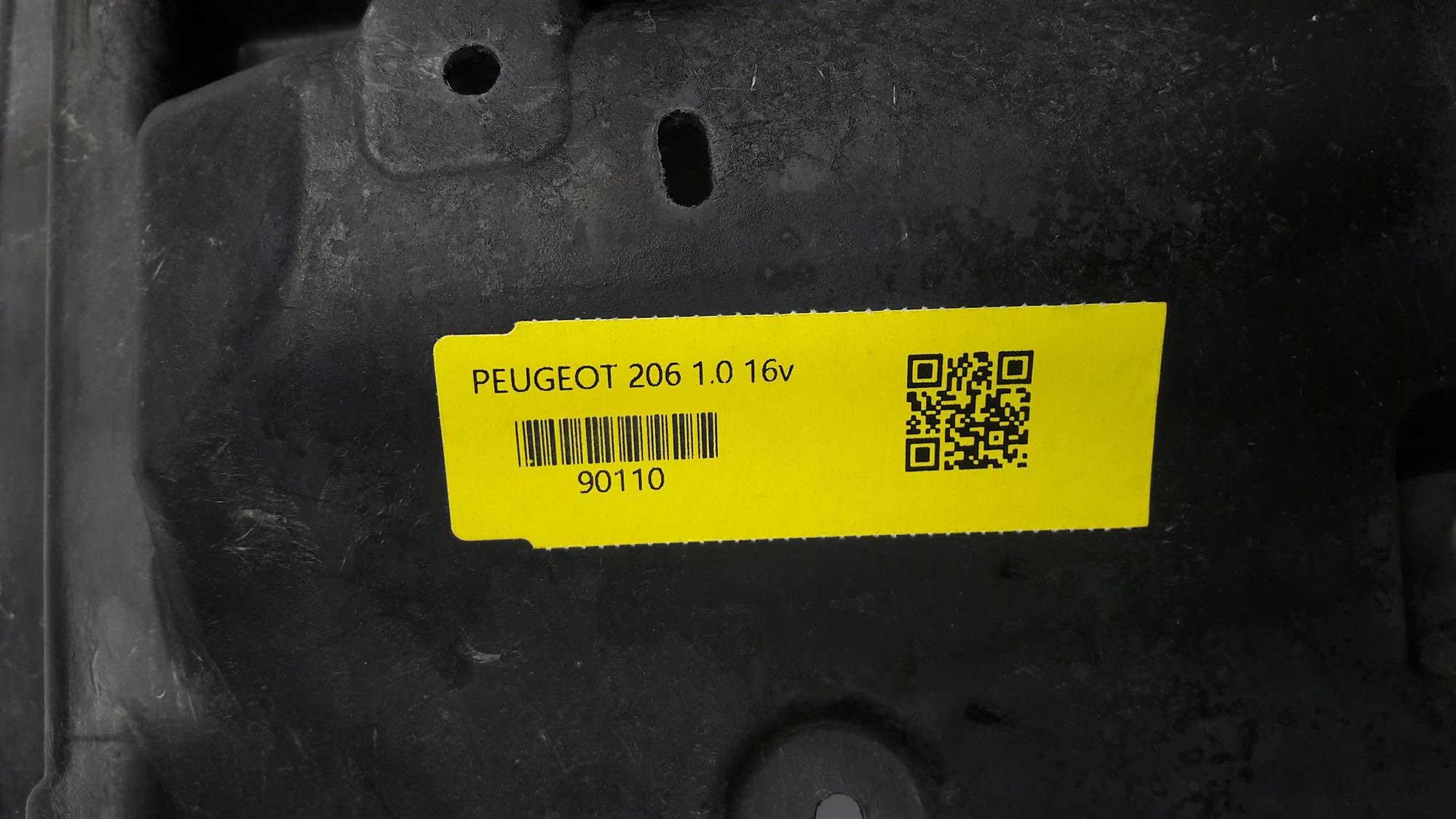 PAINEL FRONTAL QUADRO RADIADOR PEUGEOT 206 207 1.0 1.4 COM AR CONDICIONADO ORIGINAL